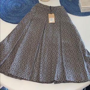 NWT halogen Joplin tweed midi skirt